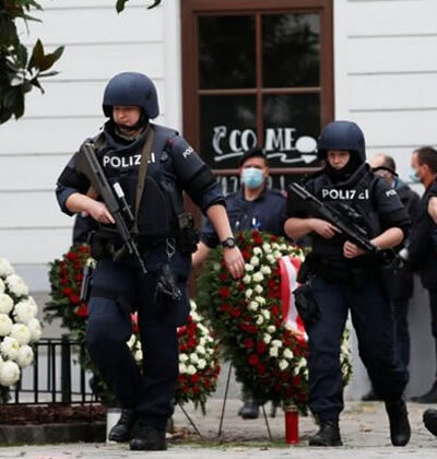 Police respond after Vienna Islamist terror attack