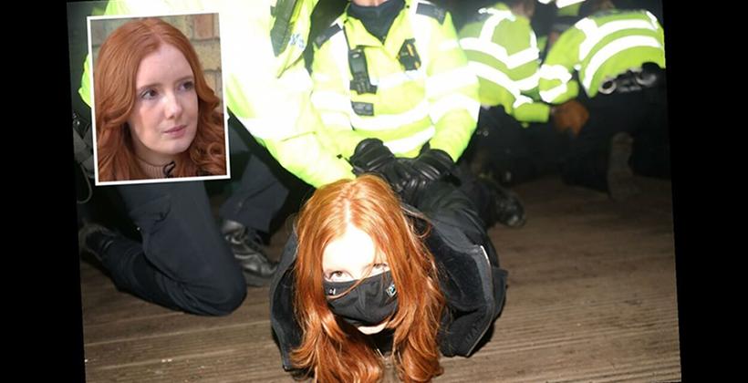 Patsy Stevenson Arrest